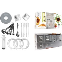 Are they tempted by the molecular gastronomy on TV? Get them a starter kit!