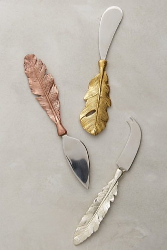 Beautiful Cheese Knives from Anthropologie