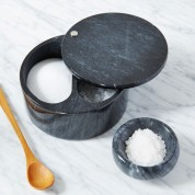 Love this Marble Salt Box and Pinch Bowl