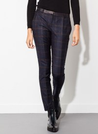 Uterque checked trousers