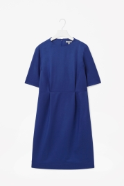 Cos fitted blue dress