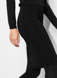 Uterque fitted knit skirt