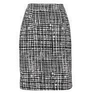 LK Bennett graphic print pencil skirt