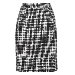 LK Bennett graphic print pencil skirt