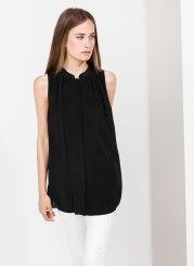 Uterque 100% silk top
