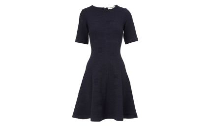 Whistles navy cotton dress