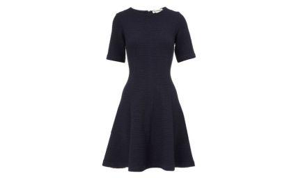 Whistles navy cotton dress