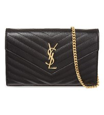 A classic YSL clutch and we love the chain