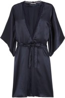 Midnight Blue Silk and Lace by Stella McCartney