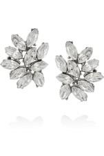 Love these Swarovski chunky cluster earrings