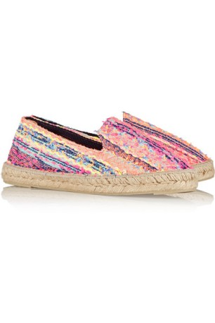 Countdown to Summer in these super-cute espadrilles